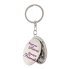 Forever Sisters, Always Friends Locket Keychain