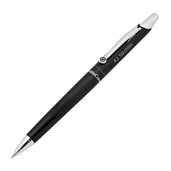 Franklin Covey Nantucket Black Ballpoint Pen