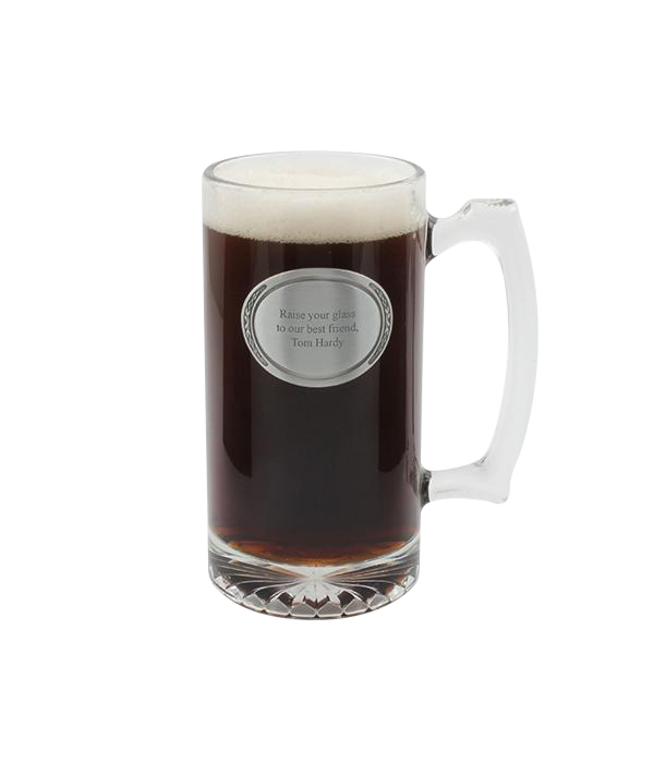Glass Sport Stein 25 oz