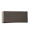 Gunmetal Money Clip