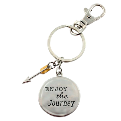 "Keychain ""ENJOY the Journey"""
