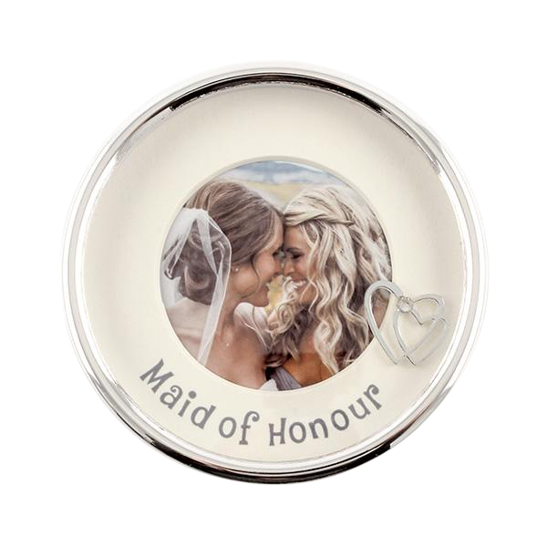 Maid of Honour Photo Trinket Box