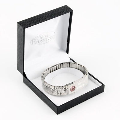 Medical Stainless Steel Stretch Bracelet
