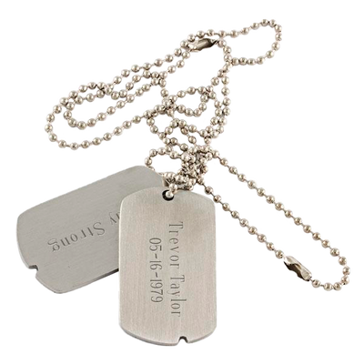 Military Style Dog Tags