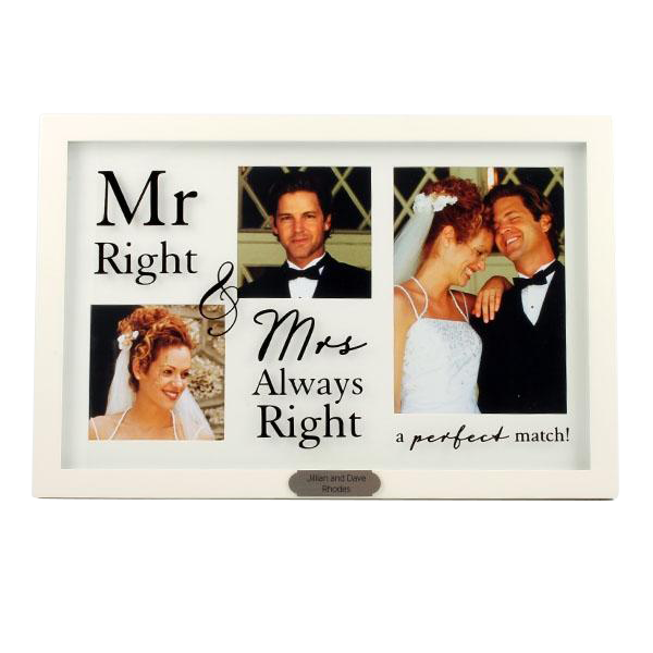 Mr. & Mrs. Triple Frame