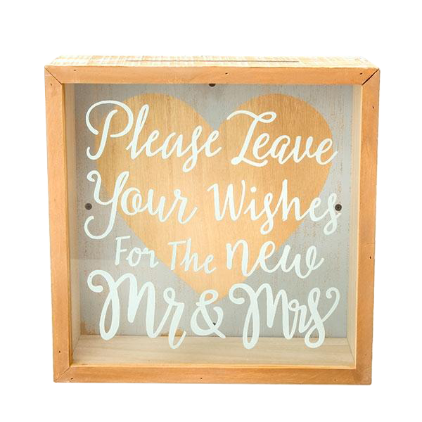Mr & Mrs Envelope Box