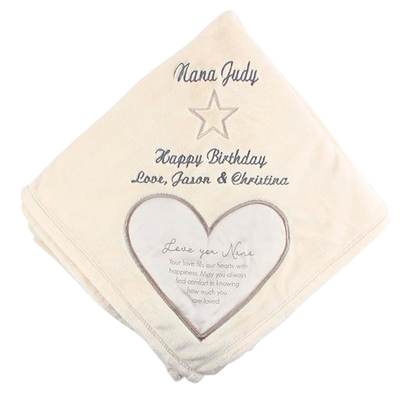 Nana Royal Plush Blanket  50x60