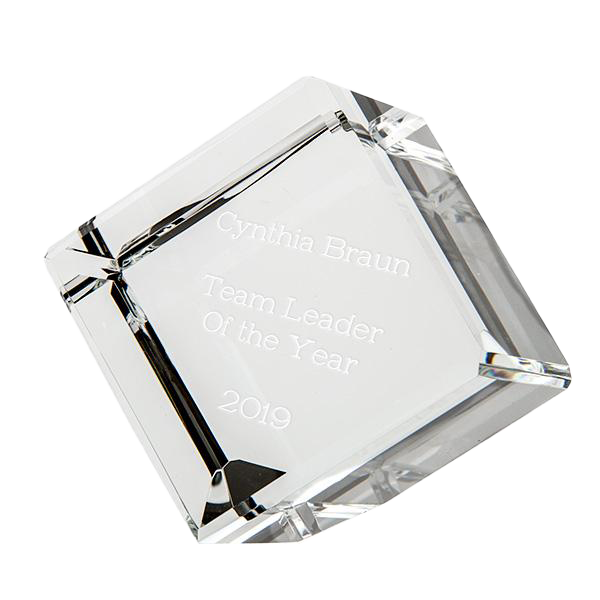 Optic Glass Cube