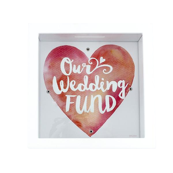 Our Wedding Fund Money Box Bank