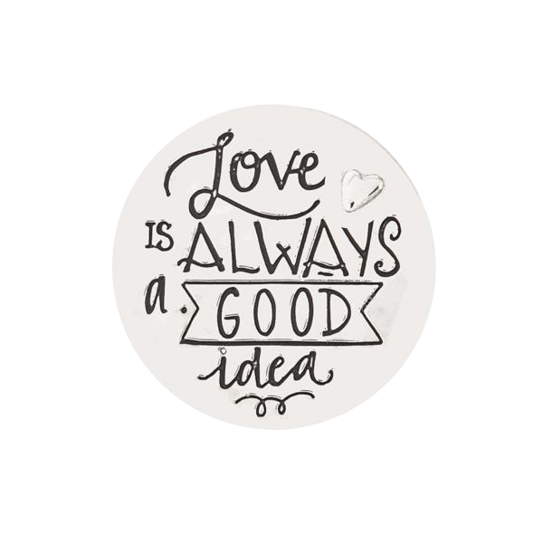 "Pocket Token ""Love is Always a Good Idea"""