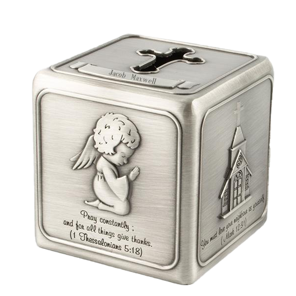 Religious Cube Money Bank