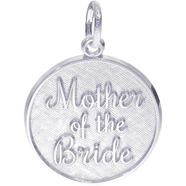 Rembrandt Sterling Mother of the Bride Charm