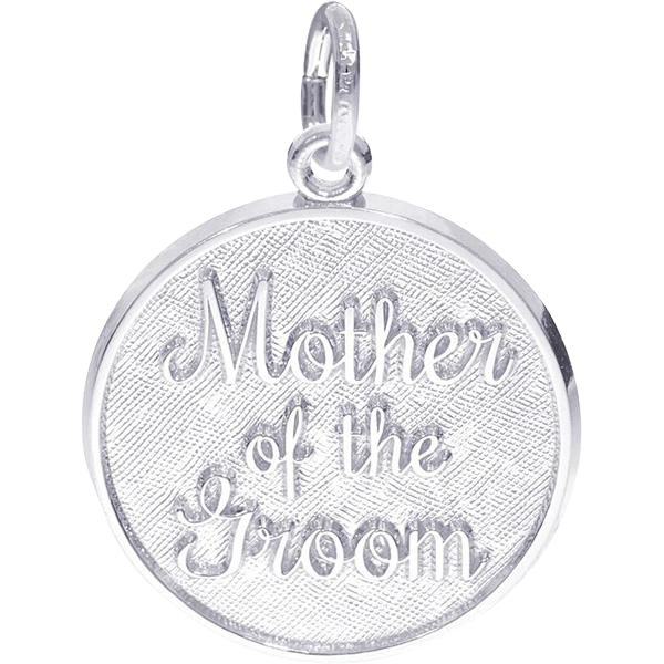 Rembrandt Sterling Mother of the Groom Charm