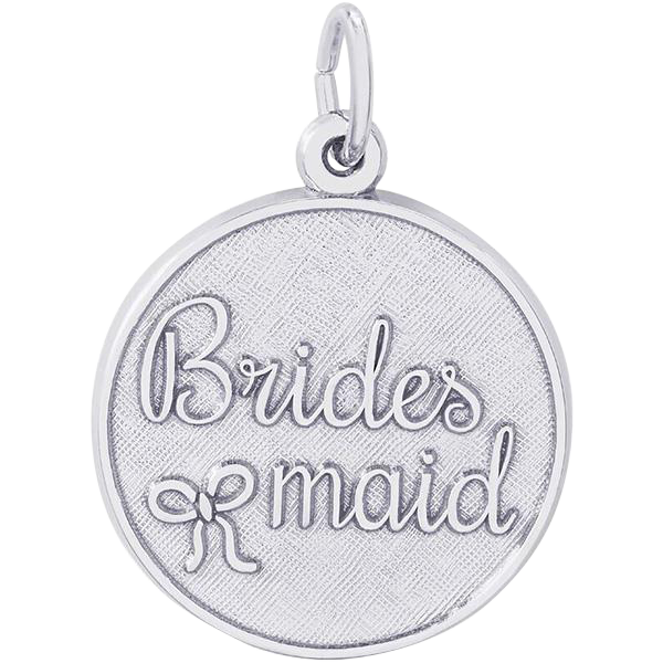 Rembrandt Sterling Silver Bridesmaid Charm