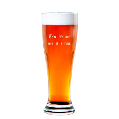 Rounded Pilsner Glass 16oz