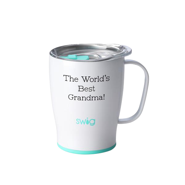 SWIG - 18oz Mug Diamond White