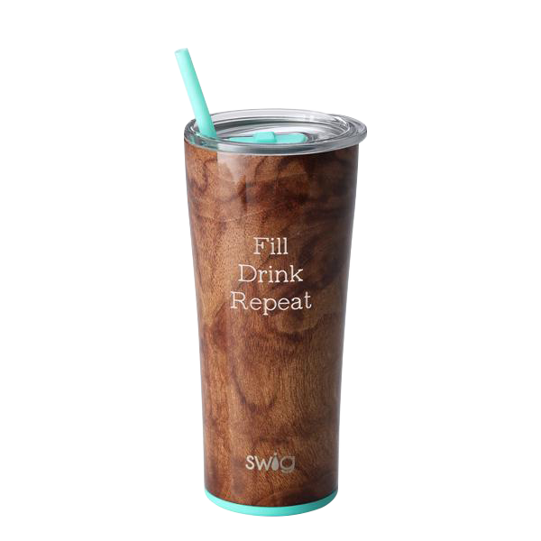 SWIG - 22oz Tumbler Wood Grain