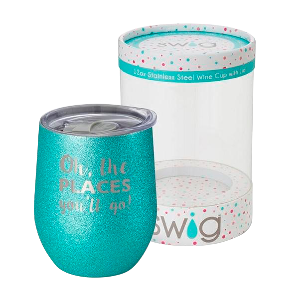 SWIG Celebration Series - Oh The Places 12oz Cup