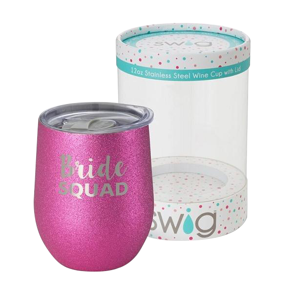 SWIG Celebration Series Wine Cup - Bride Squad