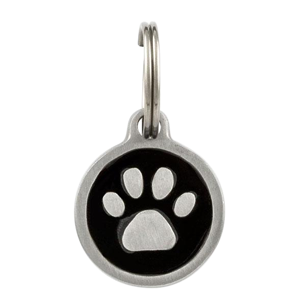 Small Paw Print Pet Tag