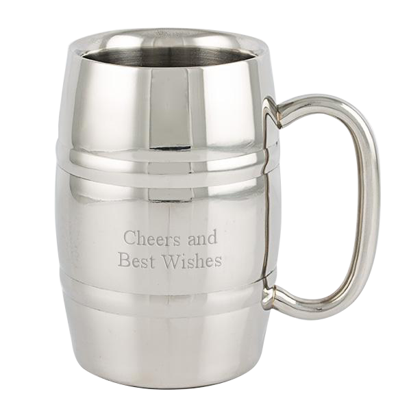 Stainless Steel Double Walled Stein