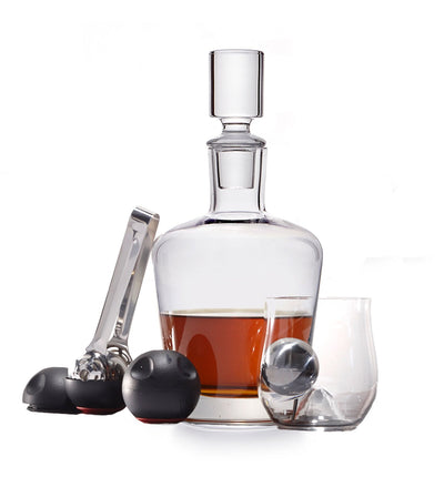 Whiskey Decanter 8-Piece Set