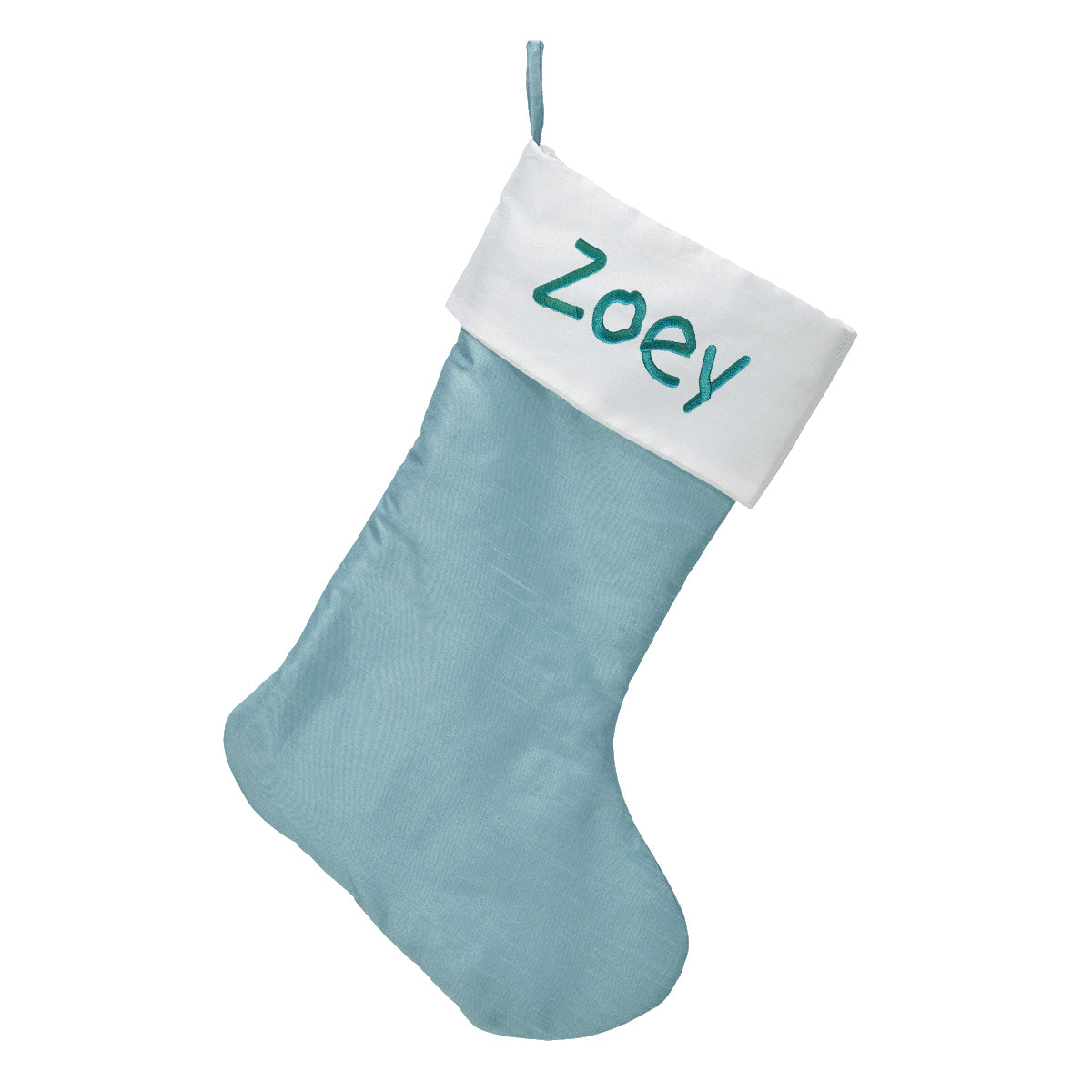 Personalized Christmas Stockings - Ice Blue