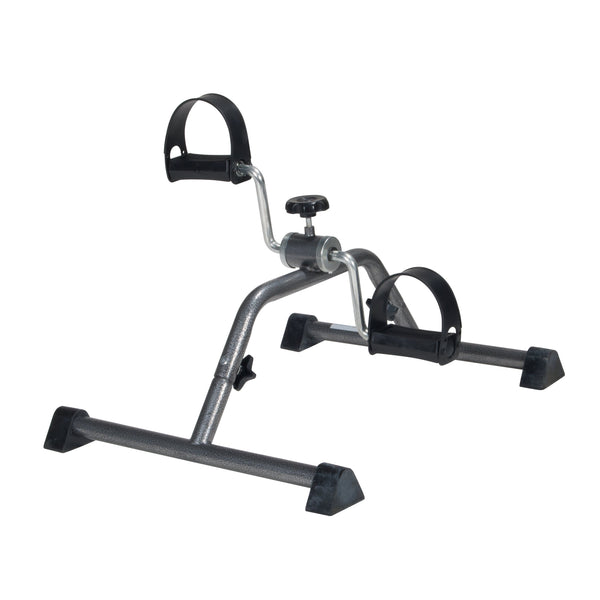 Exercise Peddler with Attractive Silver Vein Finish - Discount Homecare & Mobility Products