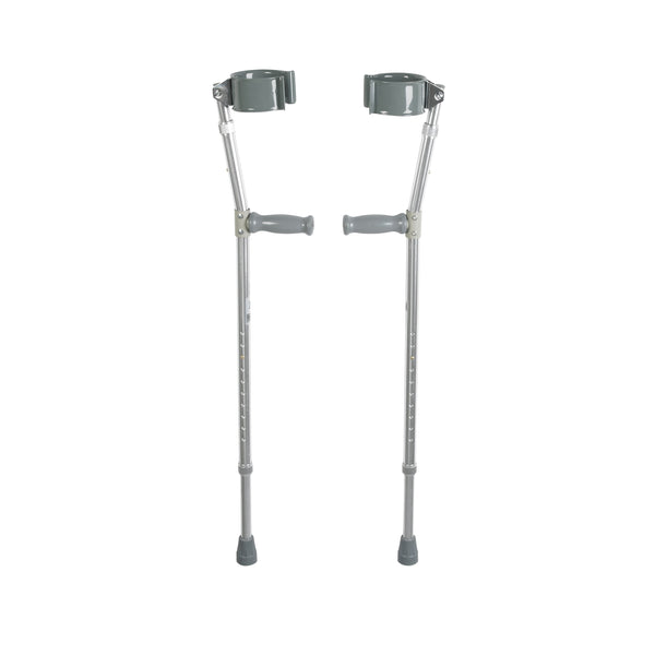 Lightweight Walking Forearm Crutches, Adult, 1 Pair - Discount Homecare & Mobility Products