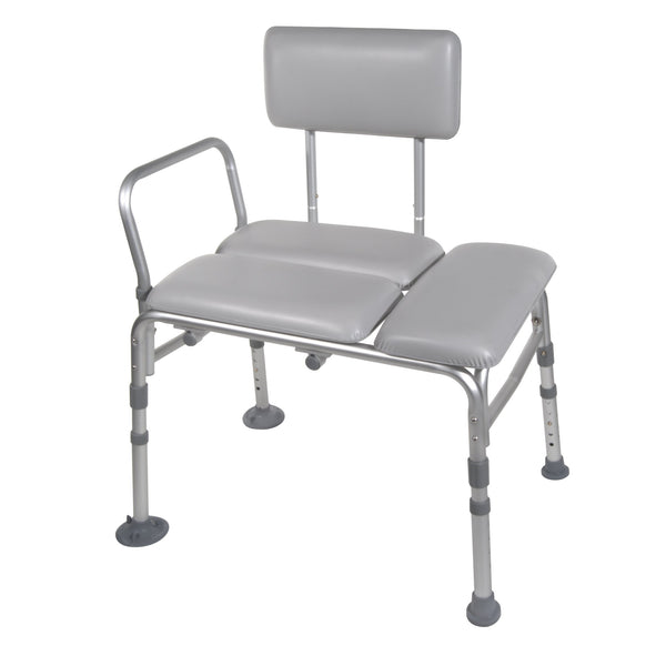 Padded Seat Transfer Bench - Discount Homecare & Mobility Products
