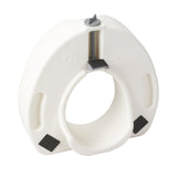 Premium Plastic Raised Toilet Seat with Lock, Elongated - Discount Homecare & Mobility Products