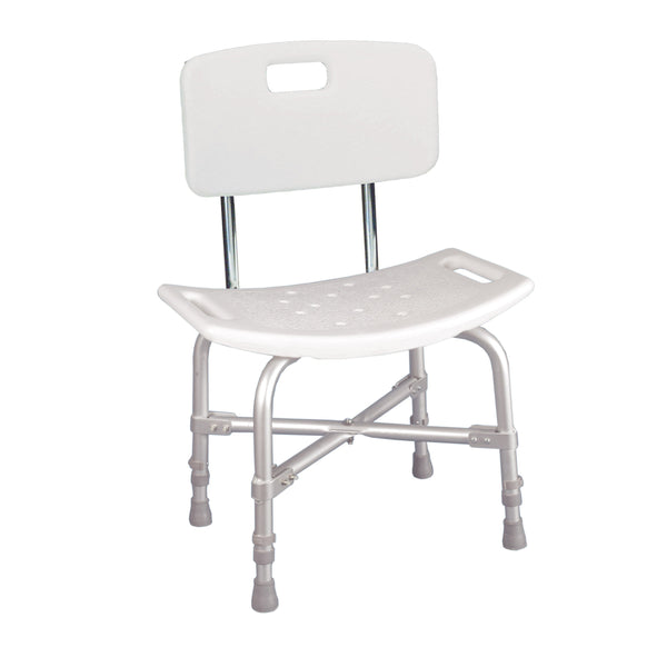 Bariatric Heavy Duty Bath Bench with Backrest - Discount Homecare & Mobility Products