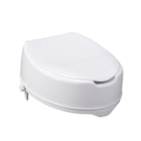 "Raised Toilet Seat with Lock and Lid, Standard Seat, 6"" - Discount Homecare & Mobility Products"