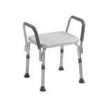 Knock Down Bath Bench with Padded Arms - Discount Homecare & Mobility Products