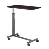 Non Tilt Top Overbed Table, Silver Vein - Discount Homecare & Mobility Products