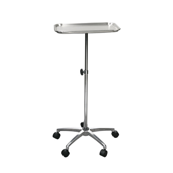 "Mayo Instrument Stand with Mobile 5"" Caster Base - Discount Homecare & Mobility Products"