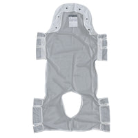 "Patient Lift Sling with Head Support and Commode Opening, 53"" x 30"" - Discount Homecare & Mobility Products"