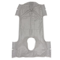 Patient Lift Commode Sling with Head Support, Dacron - Discount Homecare & Mobility Products