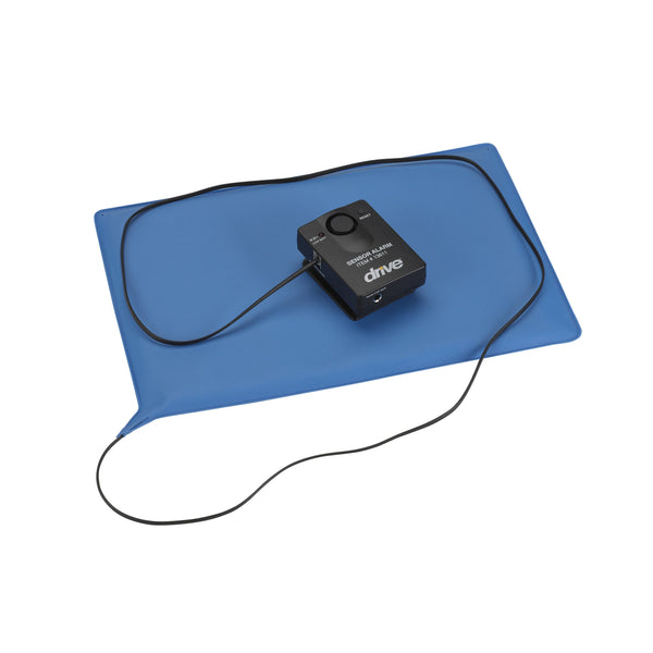 "Pressure Sensitive Bed Chair Patient Alarm with Reset Button, 10"" x 15"" Chair Pad - Discount Homecare & Mobility Products"