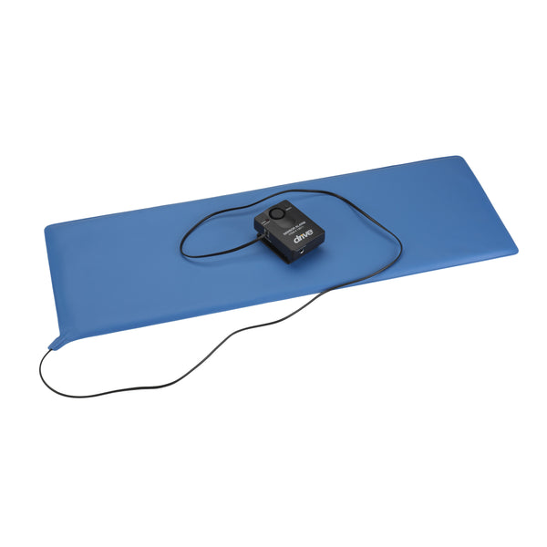 "Pressure Sensitive Bed Chair Patient Alarm, with Reset Button, 11"" x 30"" Bed Pad - Discount Homecare & Mobility Products"