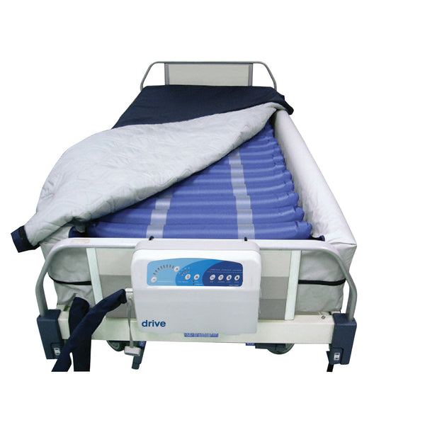 "Med Aire Plus Defined Perimeter Low Air Loss Mattress Replacement System, with Low Pressure Alarm, 8"" - Discount Homecare & Mobility Products"