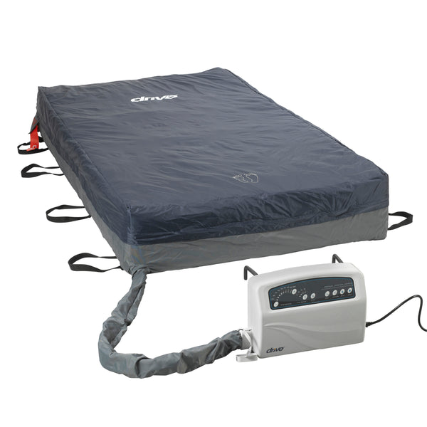 "Med Aire Plus Bariatric Low Air Loss Mattress Replacement System, 80"" x 54"" - Discount Homecare & Mobility Products"