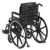 "Adjustable Tension Back Cushion for 16""-21"" Wheelchairs - Discount Homecare & Mobility Products"