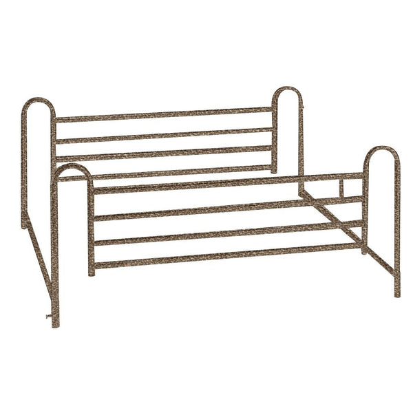 Full Length Hospital Bed Side Rails, 1 Pair - Discount Homecare & Mobility Products