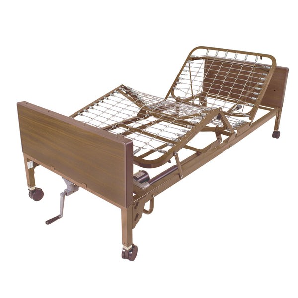 Semi Electric Hospital Bed, Frame Only - Discount Homecare & Mobility Products