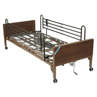 Semi Electric Hospital Bed with Full Rails - Discount Homecare & Mobility Products