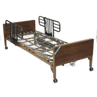 Delta Ultra Light Full Electric Hospital Bed with Half Rails - Discount Homecare & Mobility Products