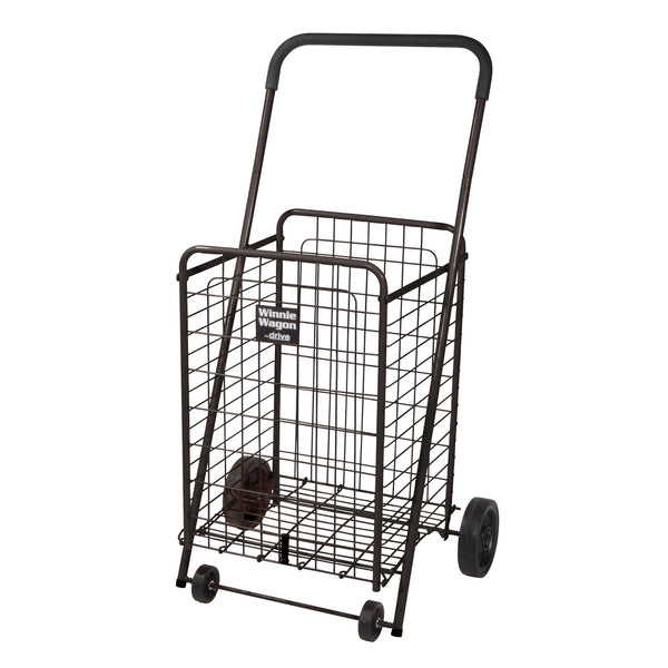 Winnie Wagon All Purpose Shopping Utility Cart, Black - Discount Homecare & Mobility Products