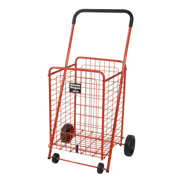 Winnie Wagon All Purpose Shopping Utility Cart, Red - Discount Homecare & Mobility Products