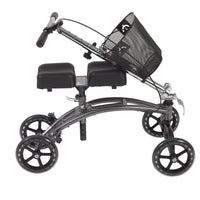 Dual Pad Steerable Knee Walker Knee Scooter with Basket, Alternative to Crutches - Discount Homecare & Mobility Products